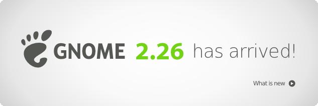 Gnome 2.26 - Released!