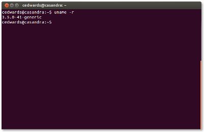 Find your Ubuntu kernel version